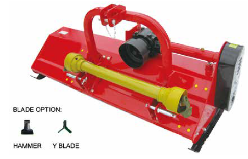 Hanmey Reinforced Heavy Flail Mower | Central Hills Machinery Traders
