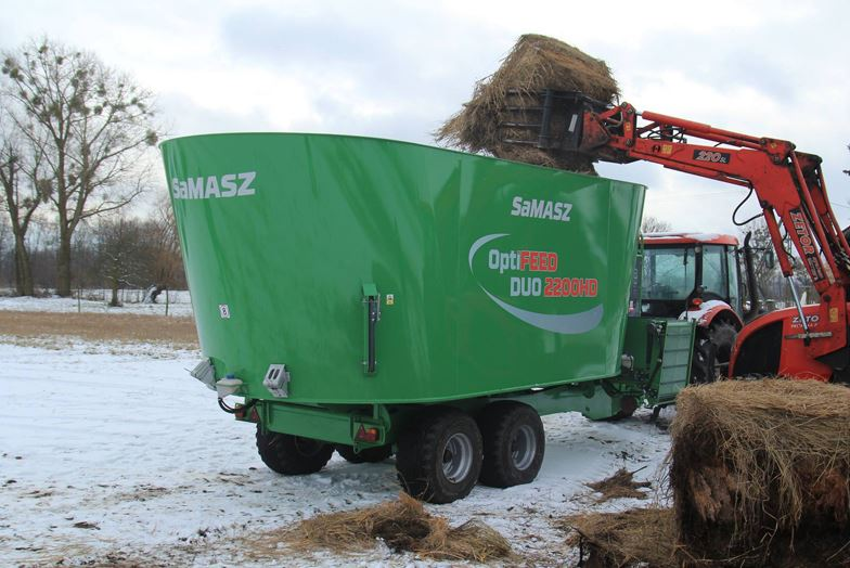 Samasz 2-auger Mixer Feeder | Central Hills Machinery Traders